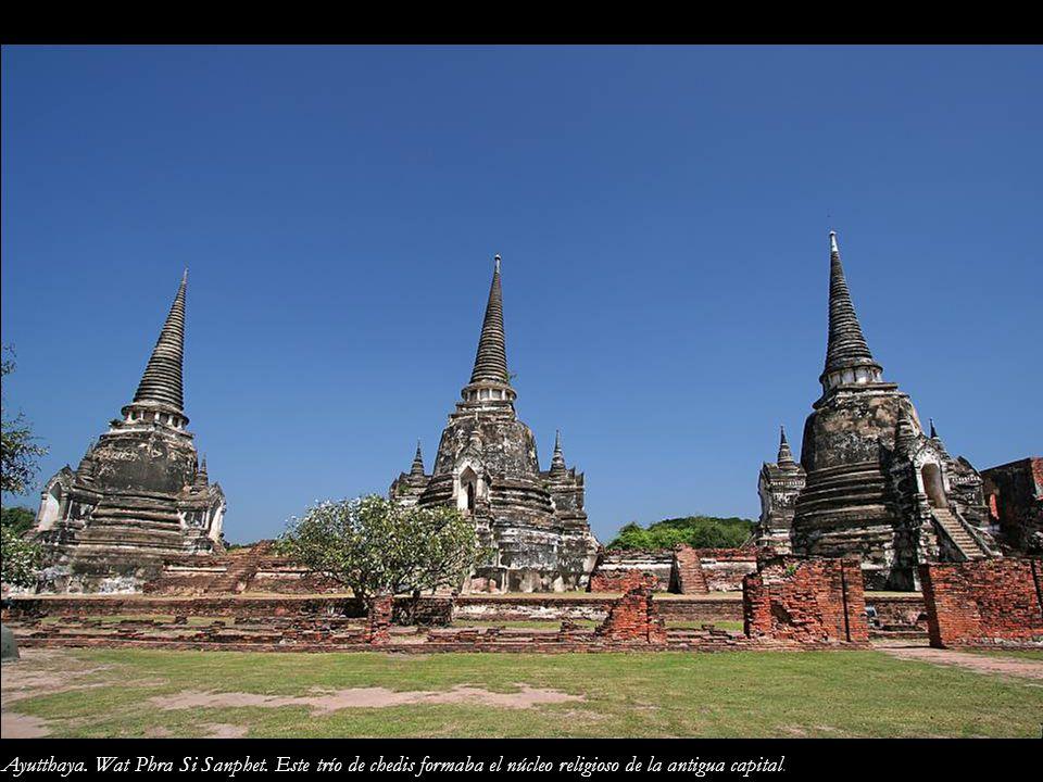 Ayutthaya. Wat Phra Si Sanphet