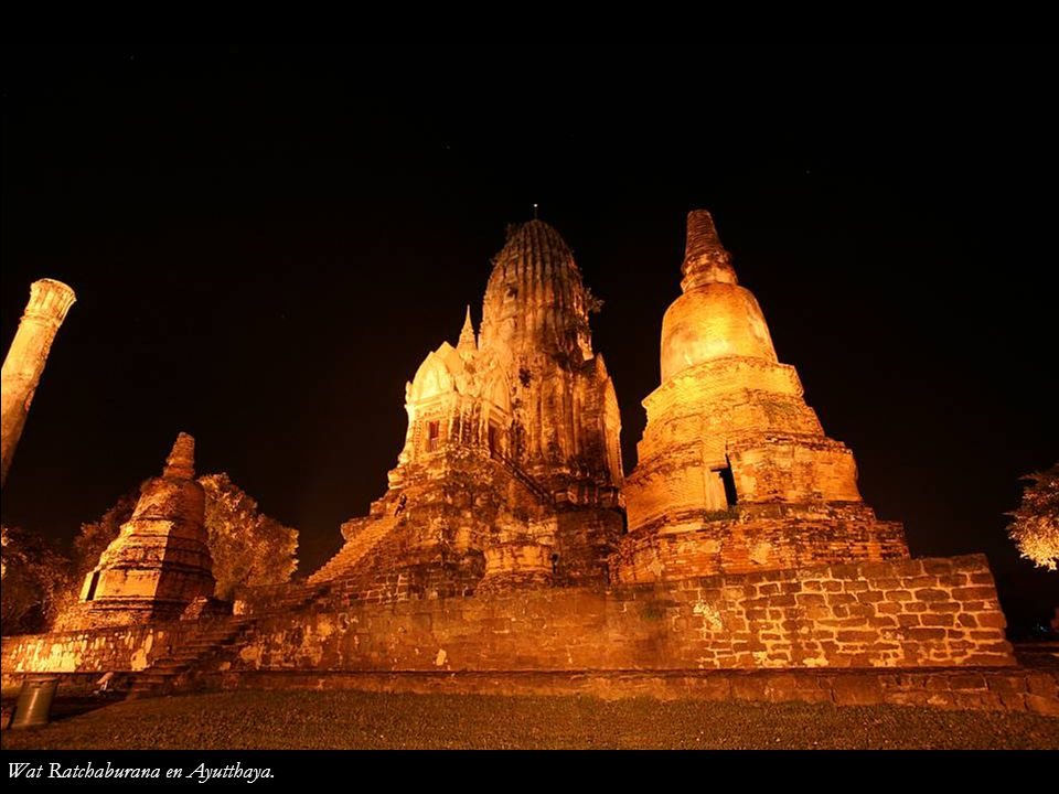 Wat Ratchaburana en Ayutthaya.