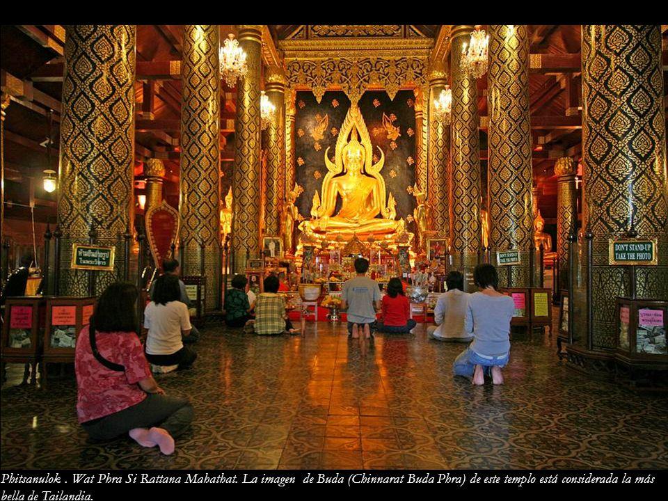 Phitsanulok. Wat Phra Si Rattana Mahathat