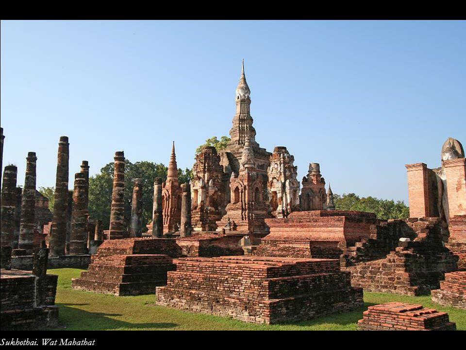 Sukhothai. Wat Mahathat
