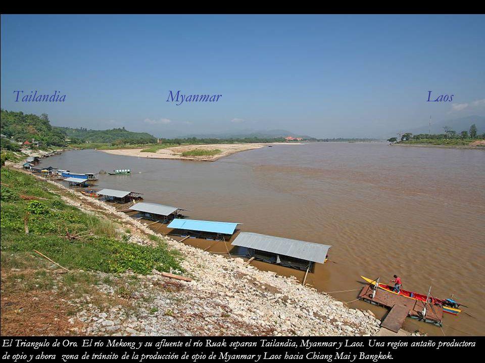 Tailandia Myanmar Laos