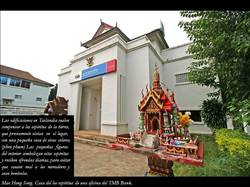 Las edificaciones en Tailandia suelen