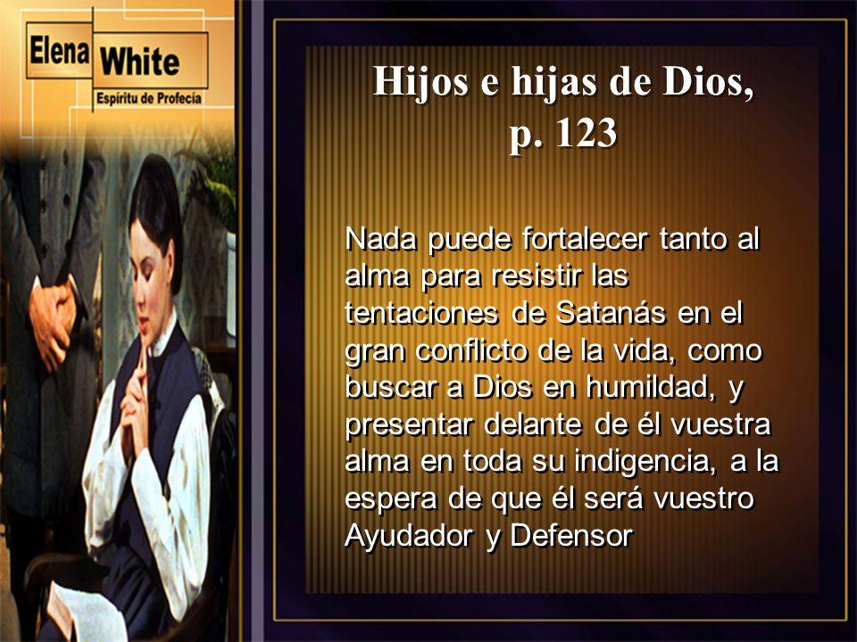 Hijos e hijas de Dios, p. 123