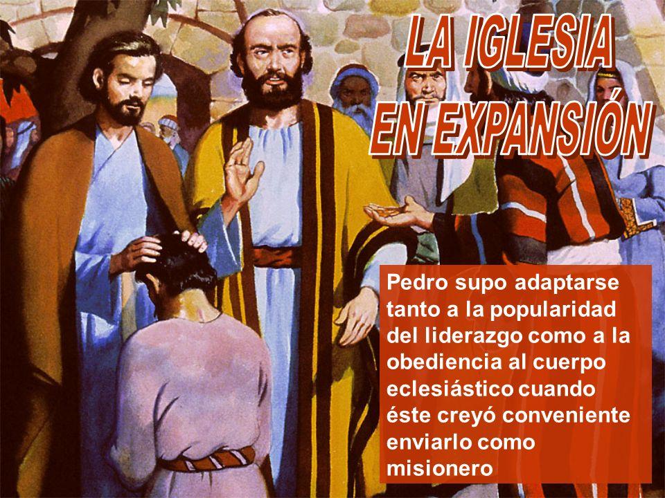 LA IGLESIA EN EXPANSIÓN