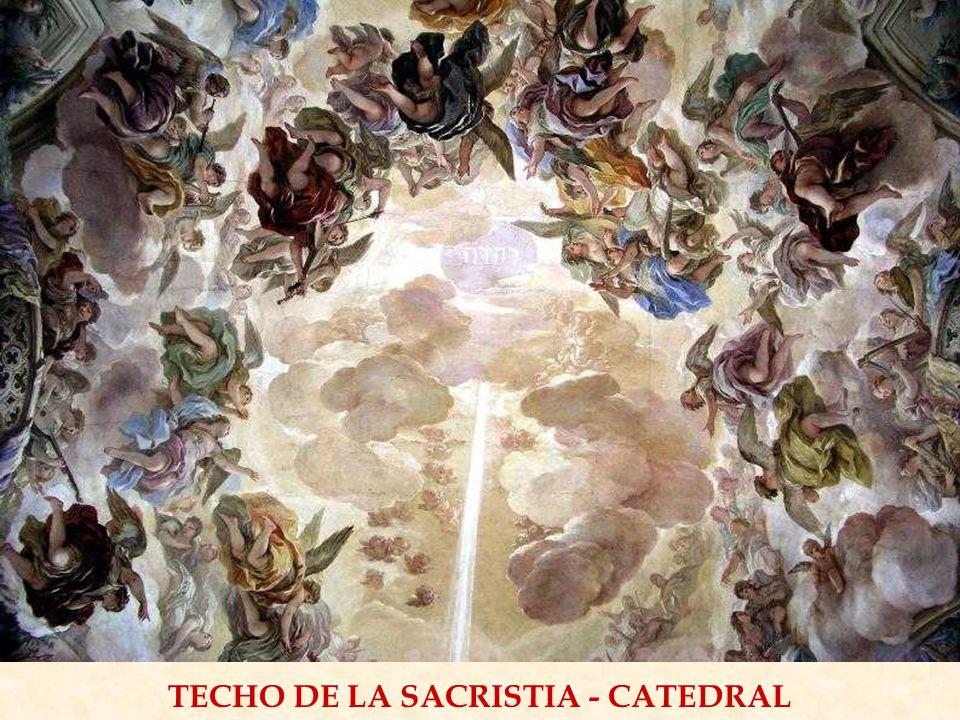 TECHO DE LA SACRISTIA - CATEDRAL