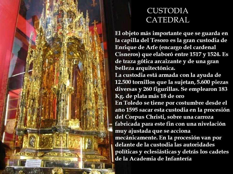 CUSTODIA CATEDRAL.