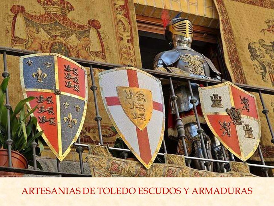 ARTESANIAS DE TOLEDO ESCUDOS Y ARMADURAS