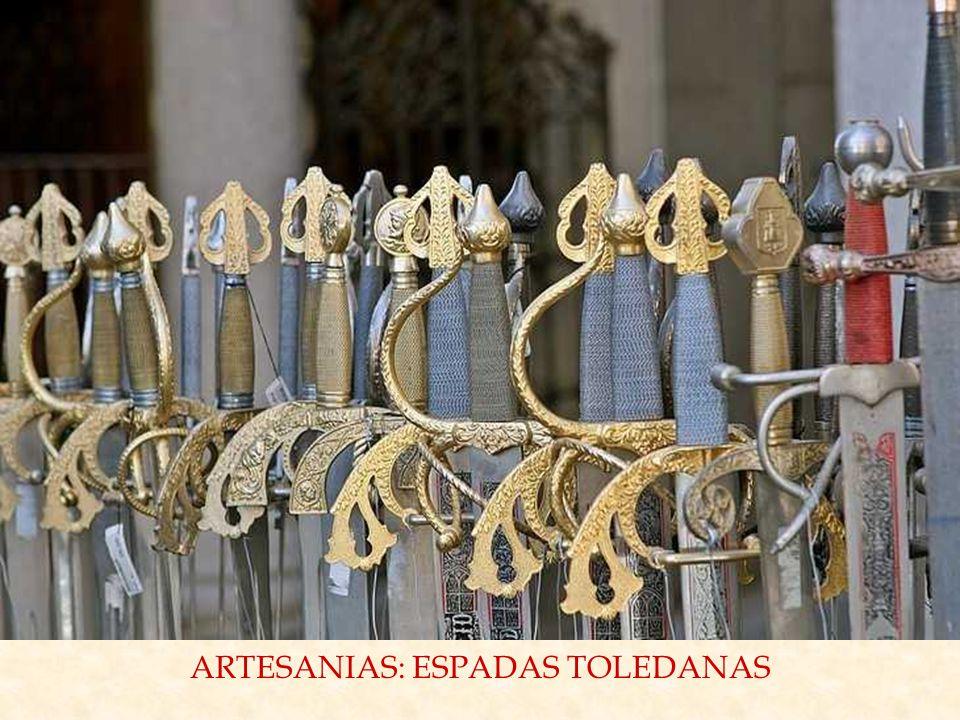 ARTESANIAS: ESPADAS TOLEDANAS