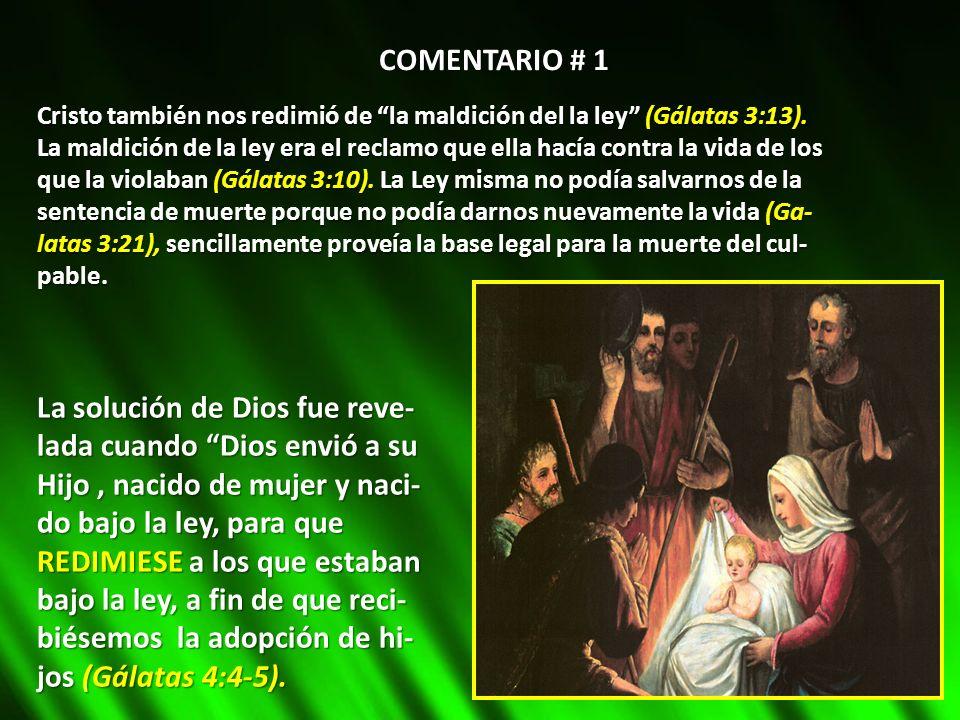 La solución de Dios fue reve- lada cuando Dios envió a su