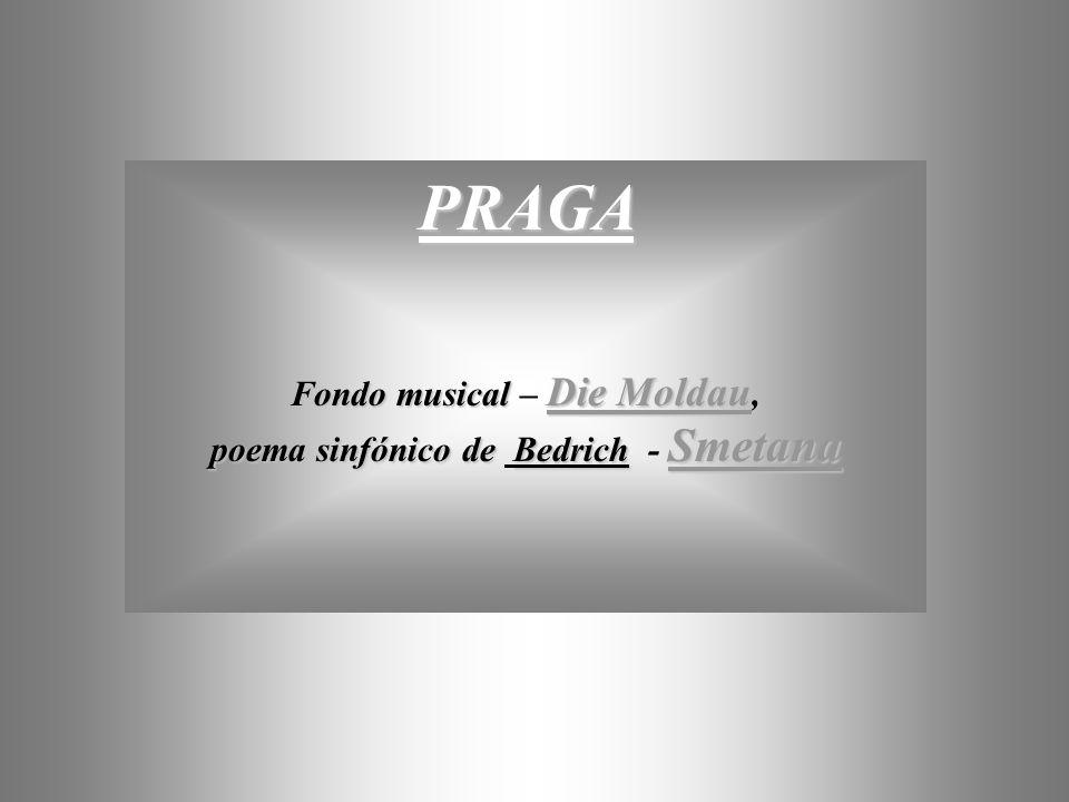 Fondo musical – Die Moldau,