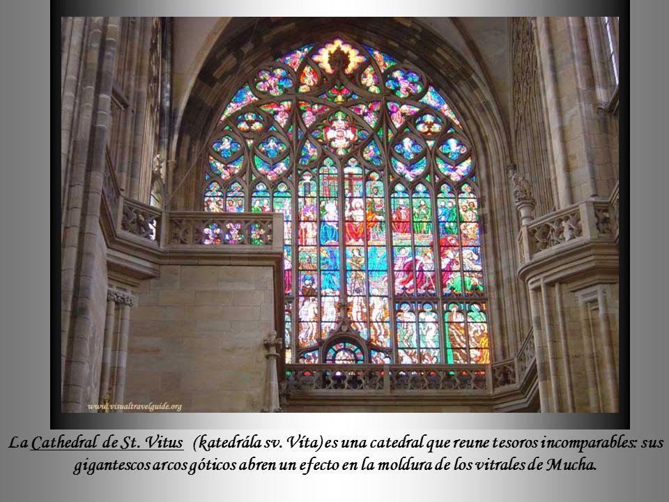 La Cathedral de St. Vitus (katedrála sv