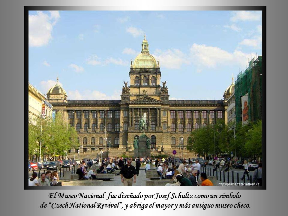 El Museo Nacional fue diseñado por Josef Schultz como un símbolo