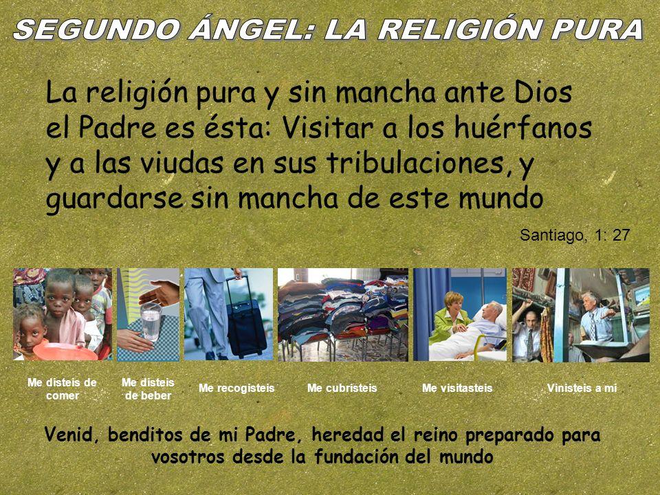 SEGUNDO ÁNGEL: LA RELIGIÓN PURA