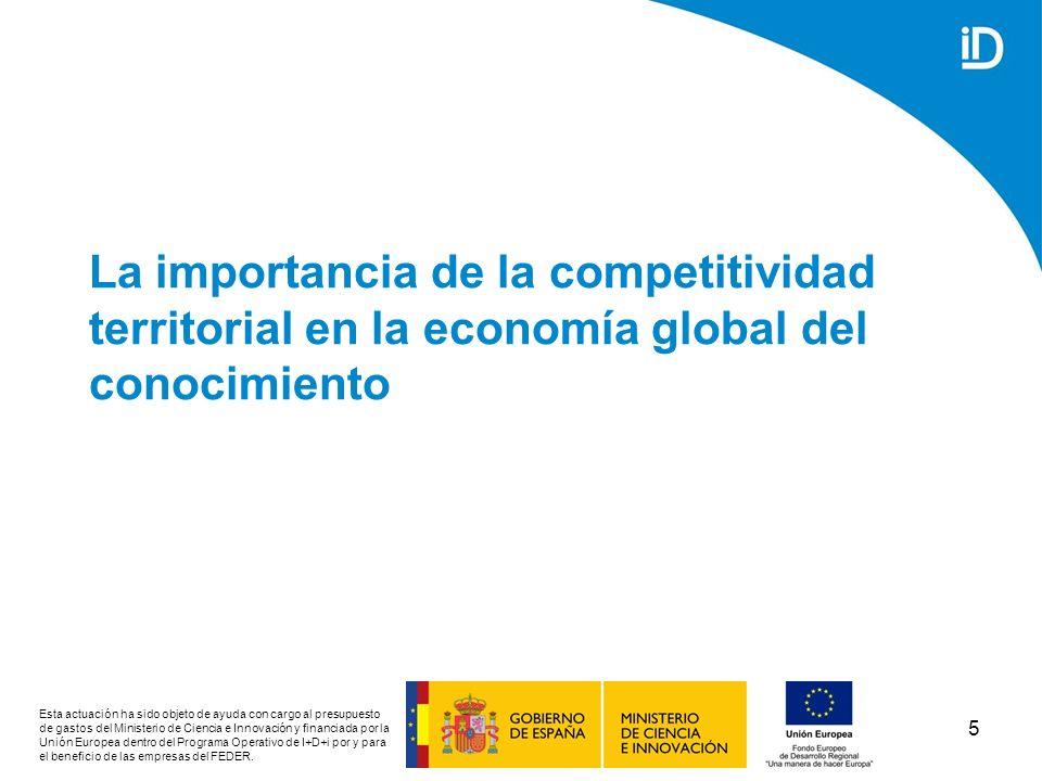 La importancia de la competitividad territorial en la economía global del conocimiento