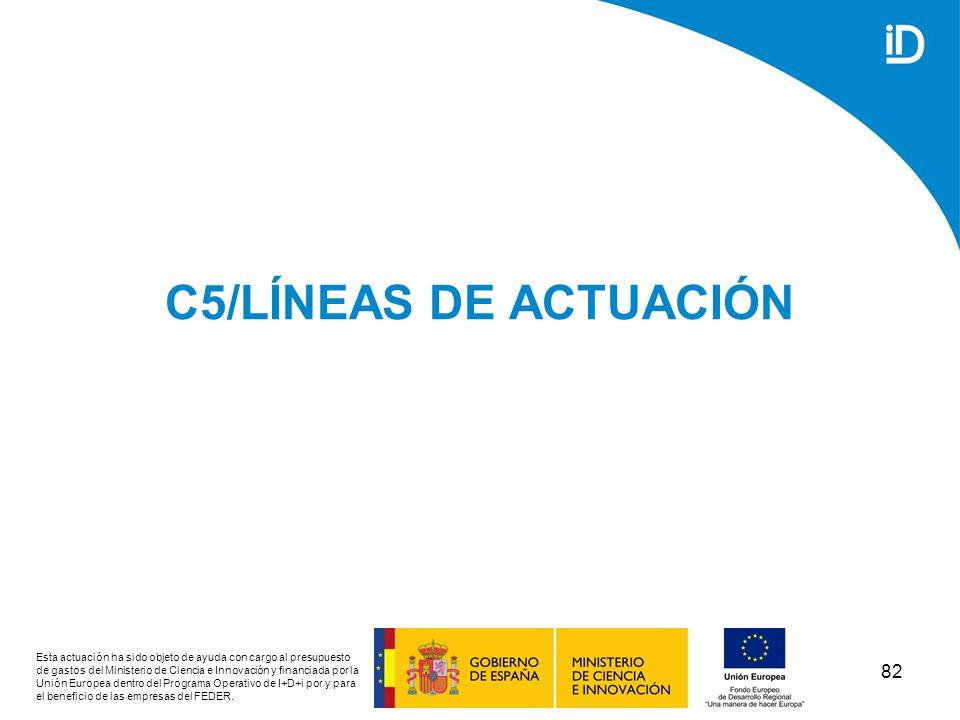 C5/LÍNEAS DE ACTUACIÓN