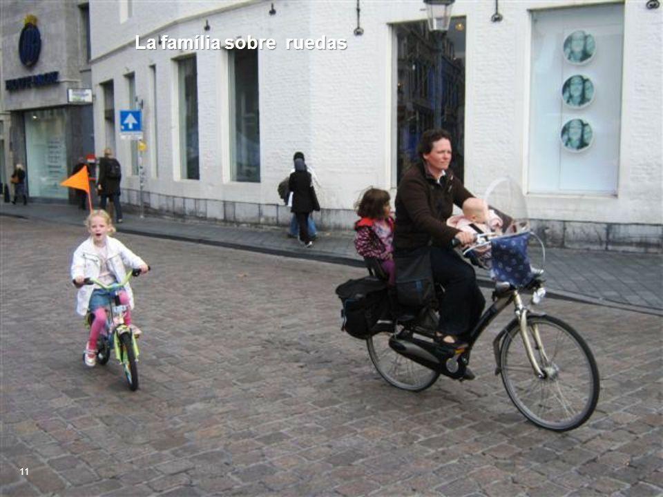 La família sobre ruedas