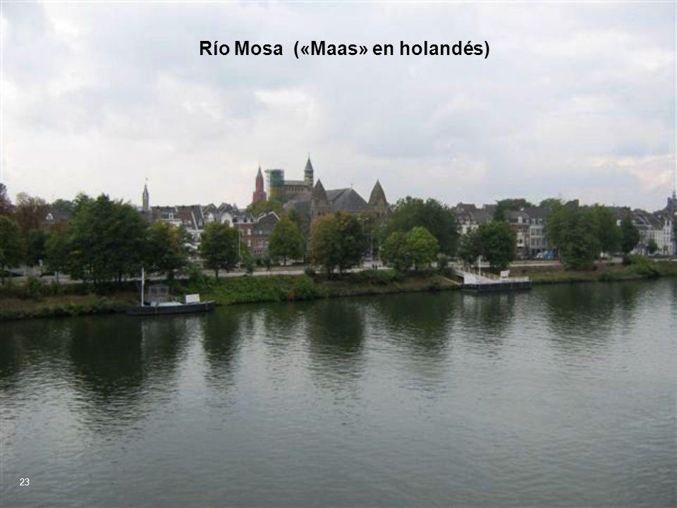 Río Mosa («Maas» en holandés)