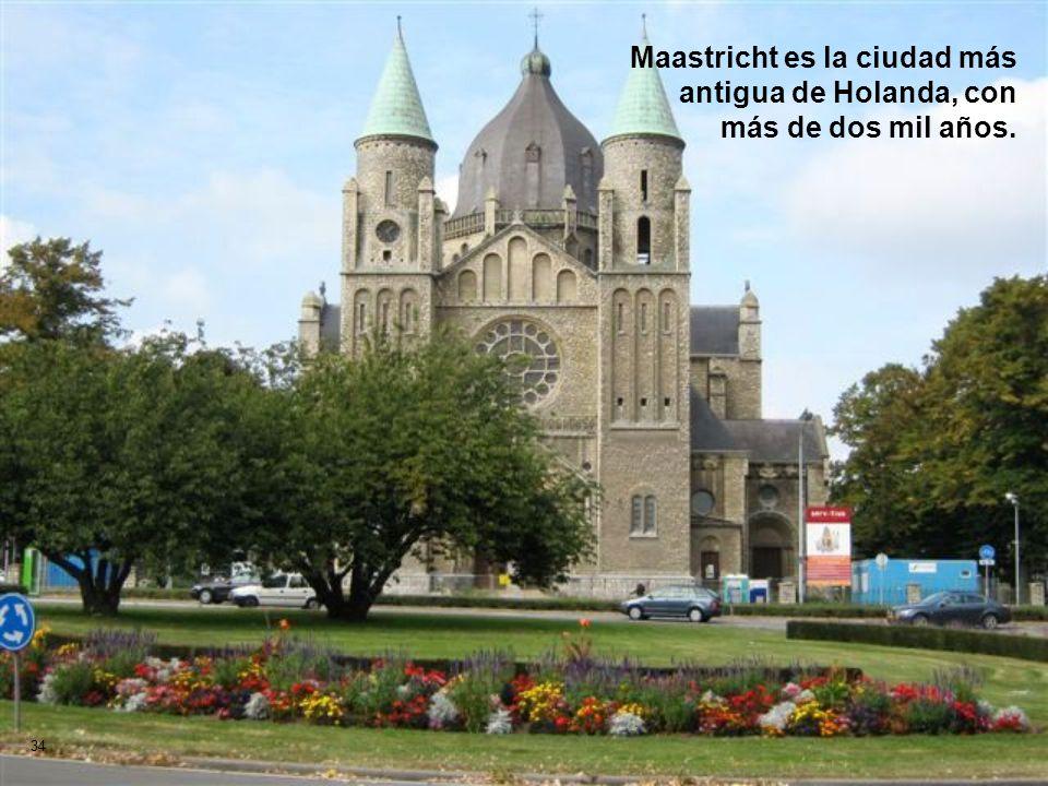 Maastricht es la ciudad más antigua de Holanda, con más de dos mil años.