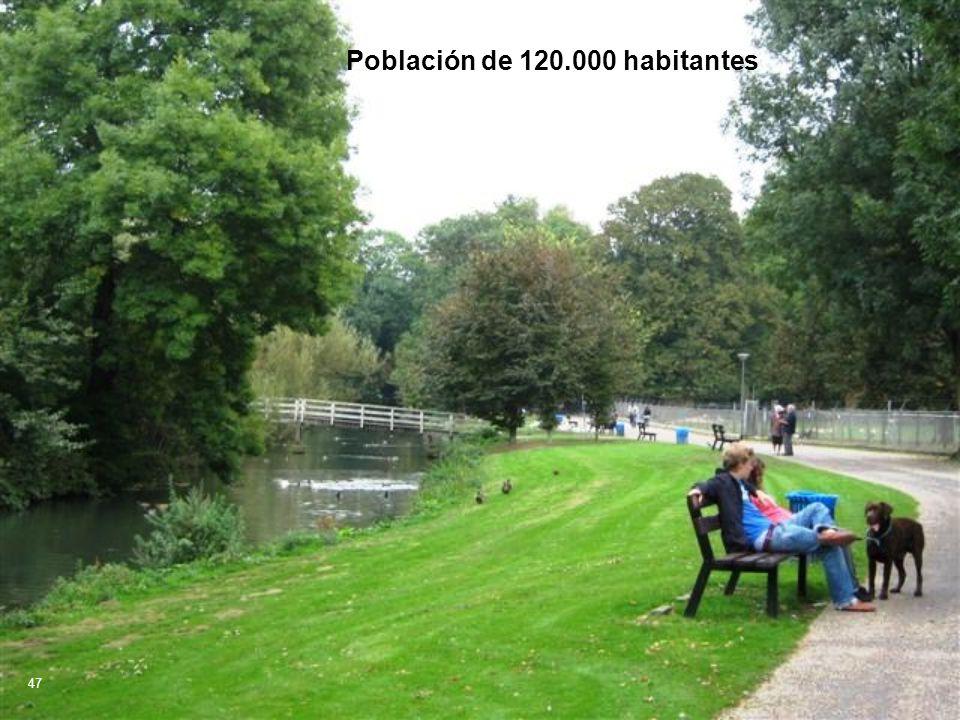 Población de 120.000 habitantes