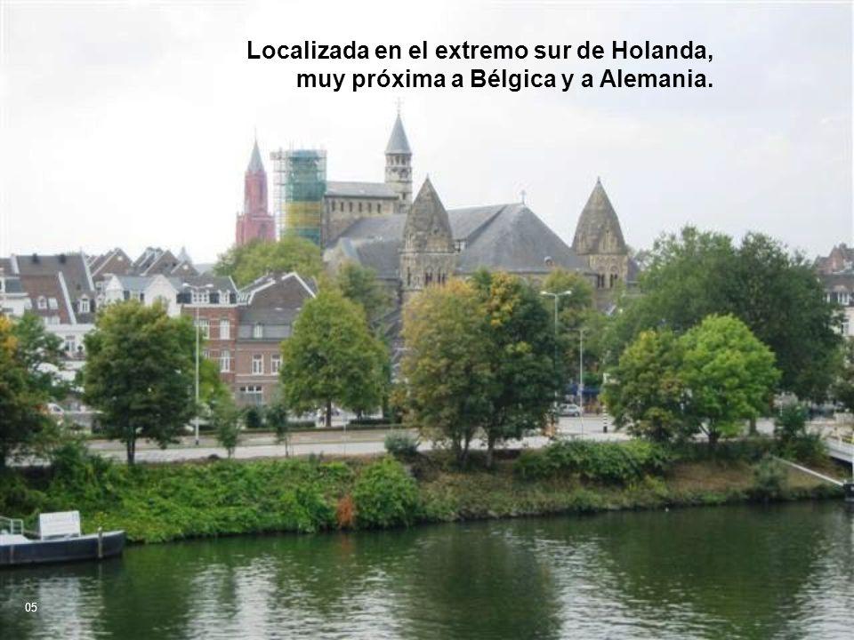 Localizada en el extremo sur de Holanda,