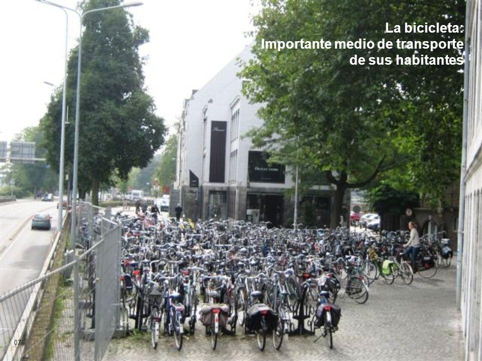 La bicicleta: Importante medio de transporte de sus habitantes