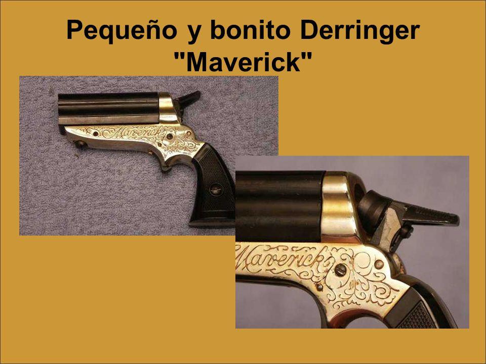 Pequeño y bonito Derringer Maverick