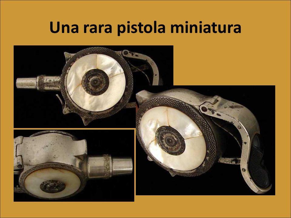 Una rara pistola miniatura