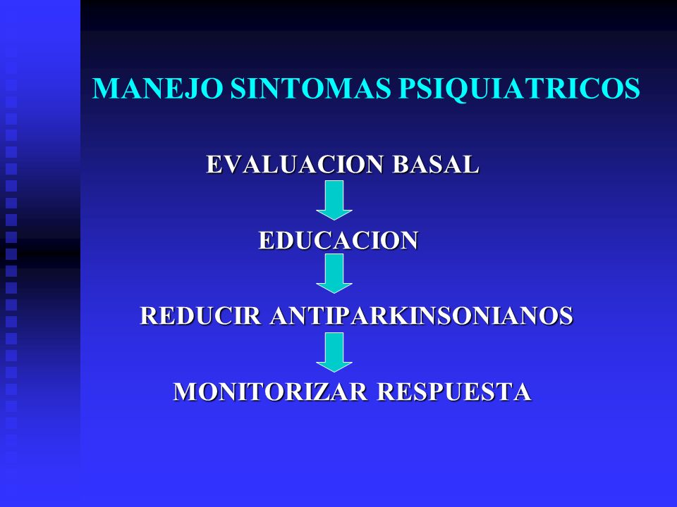 MANEJO SINTOMAS PSIQUIATRICOS