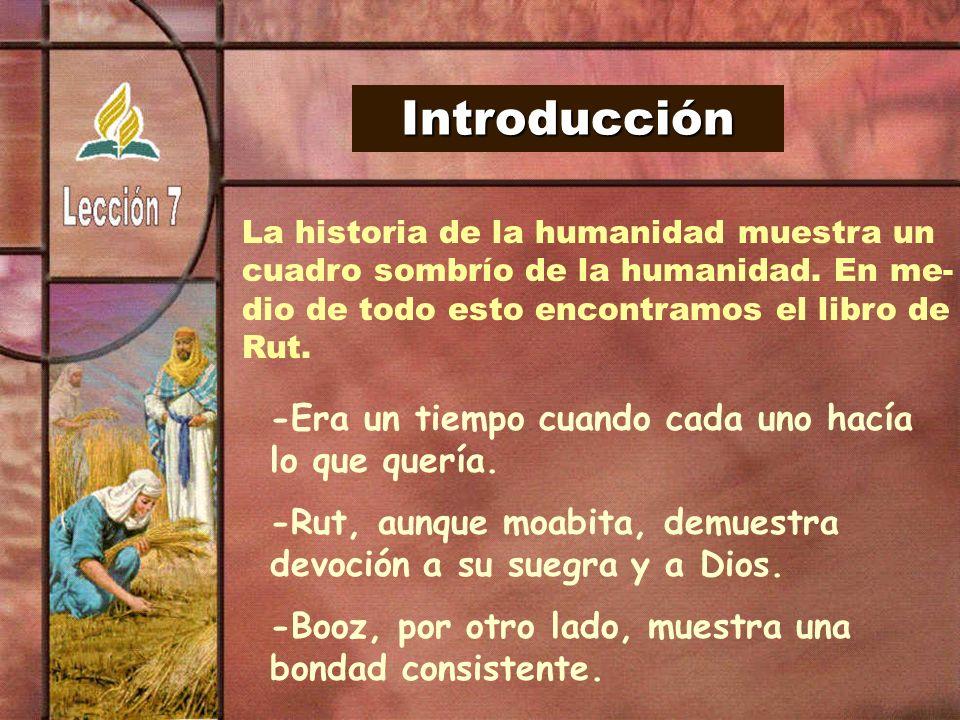 Introducción La historia de la humanidad muestra un. cuadro sombrío de la humanidad. En me- dio de todo esto encontramos el libro de.