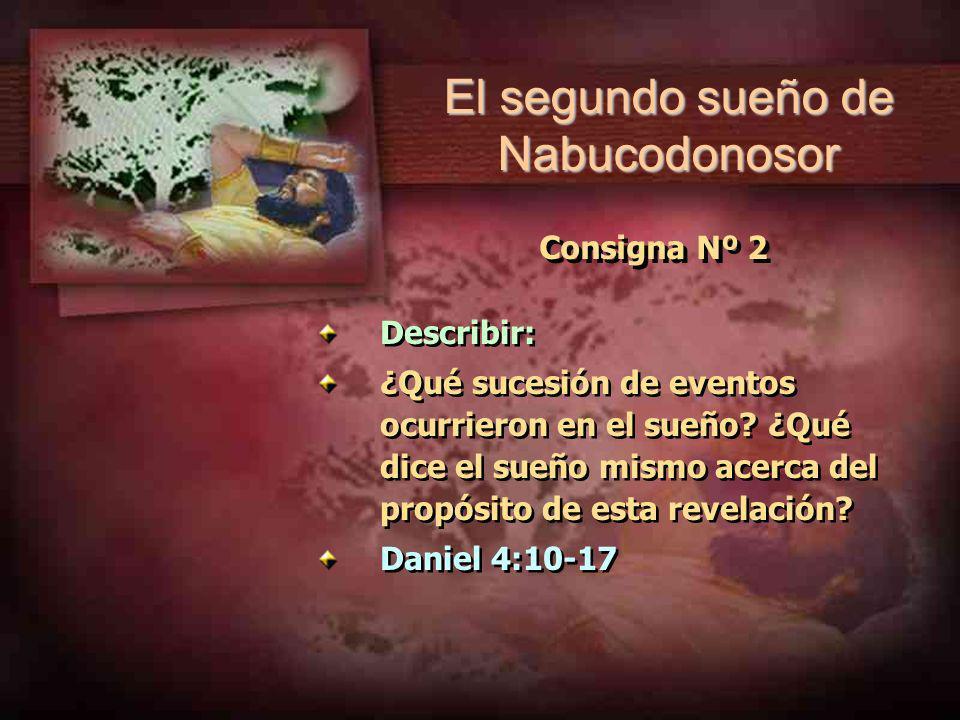 El segundo sueño de Nabucodonosor