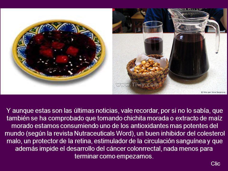 morado estamos consumiendo uno de los antioxidantes mas potentes del