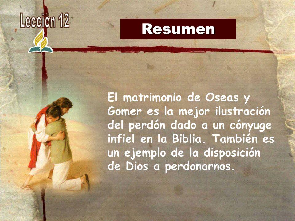 """El Matrimonio La Biblia : """"oseas y gomer perdonar a la infiel ppt descargar"""