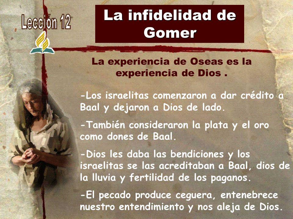 La infidelidad de Gomer