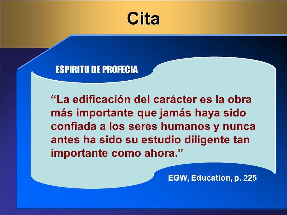 Cita ESPIRITU DE PROFECIA.