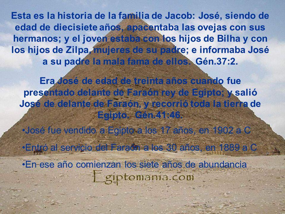 Esta es la historia de la familia de Jacob: José, siendo de edad de diecisiete años, apacentaba las ovejas con sus hermanos; y el joven estaba con los hijos de Bilha y con los hijos de Zilpa, mujeres de su padre; e informaba José a su padre la mala fama de ellos. Gén.37:2.