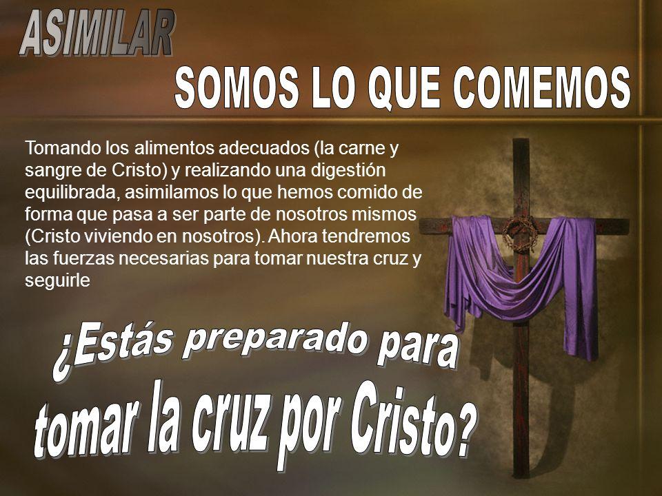 tomar la cruz por Cristo