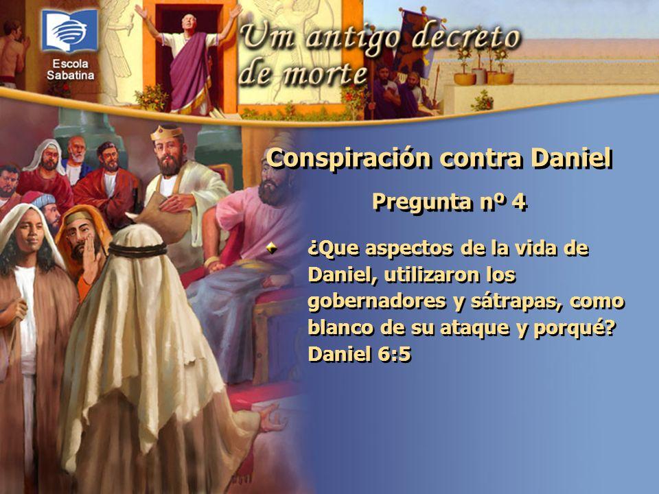 Conspiración contra Daniel