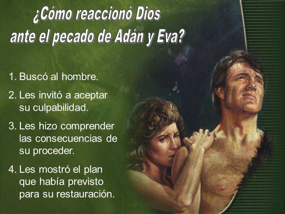 ante el pecado de Adán y Eva
