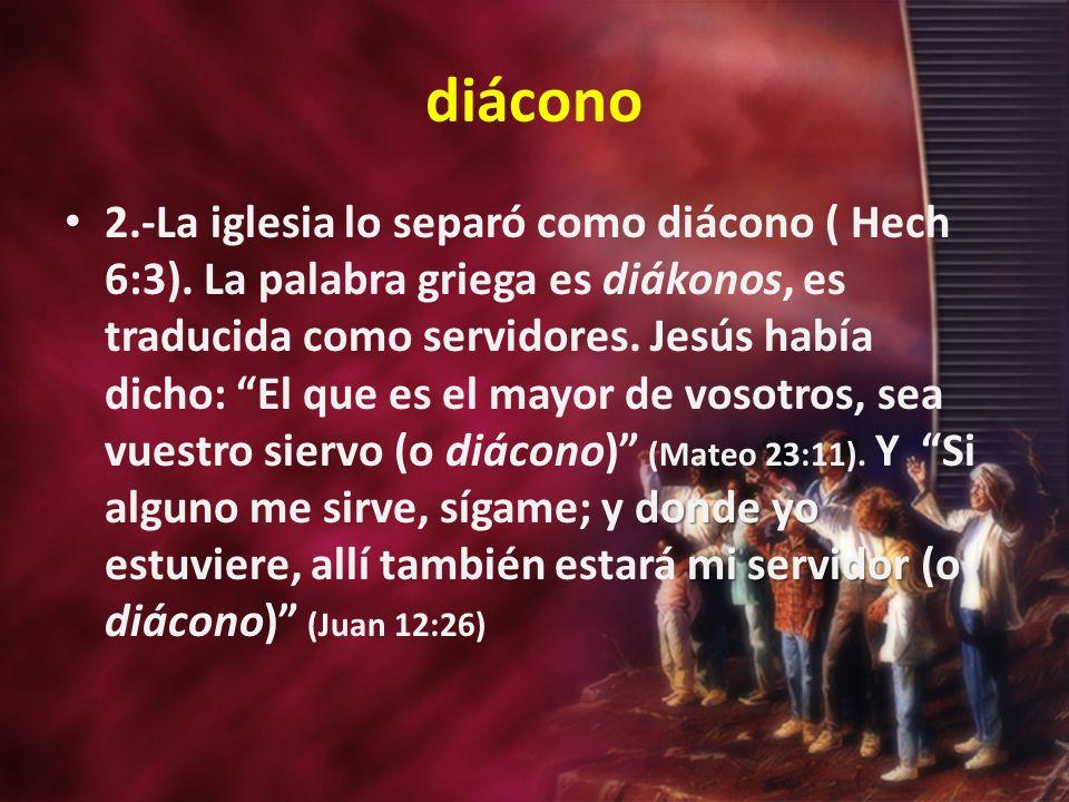 diácono