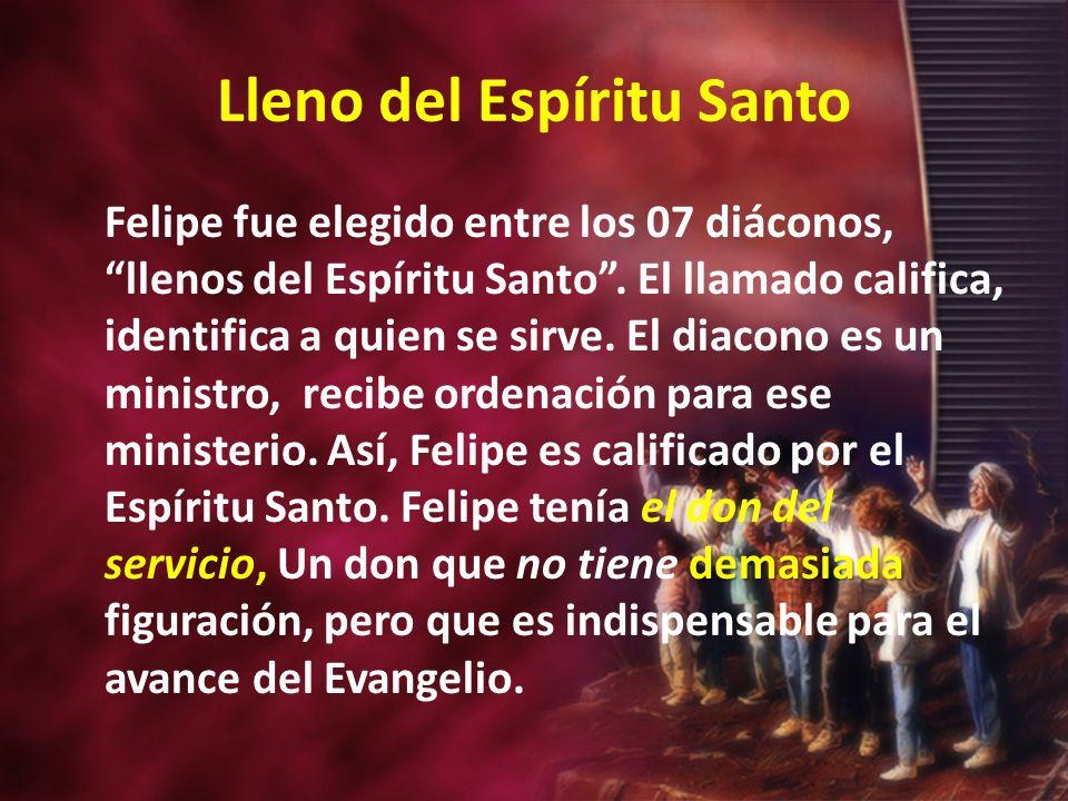 Lleno del Espíritu Santo