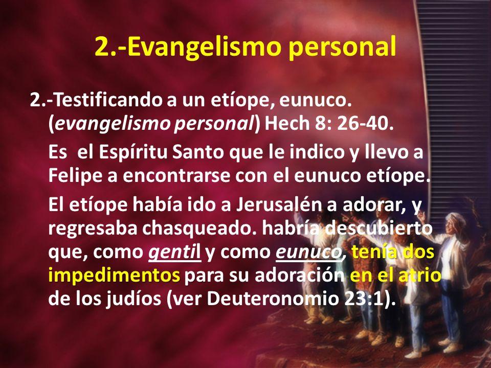 2.-Evangelismo personal