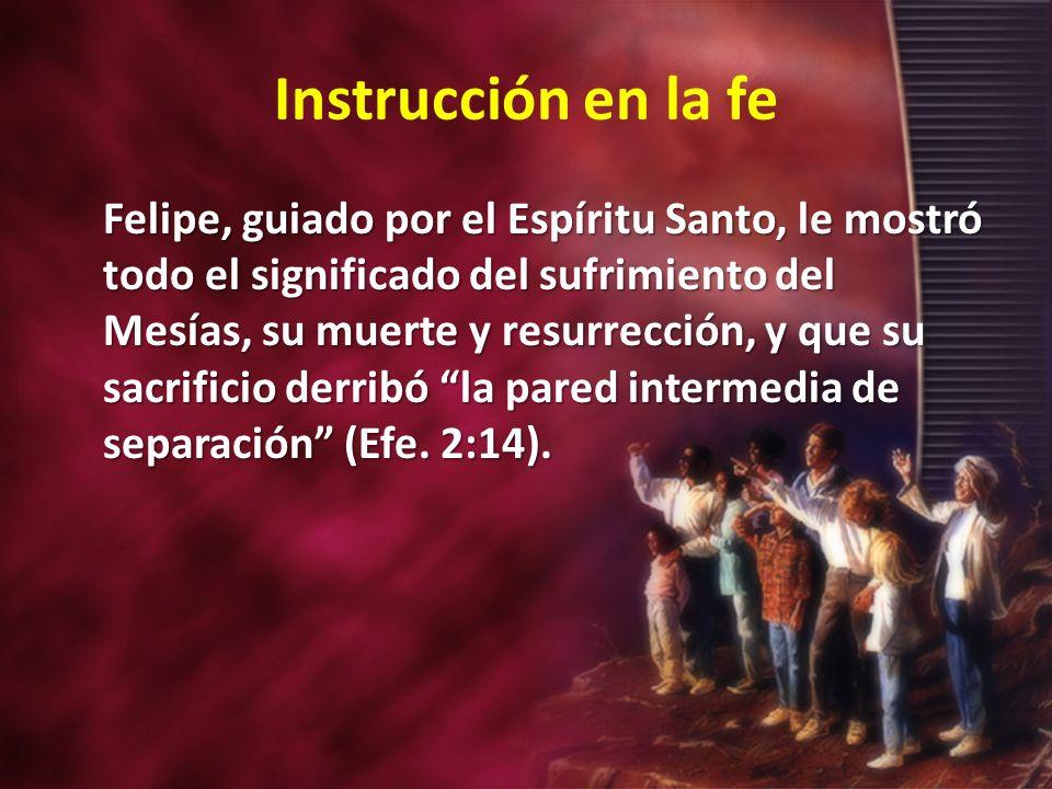 Instrucción en la fe