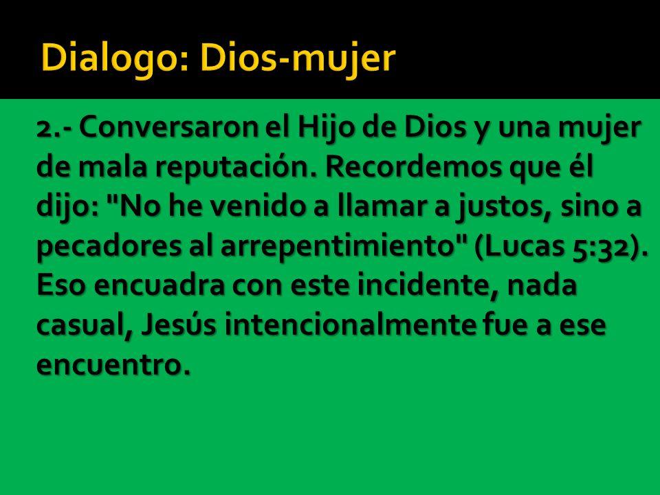 Dialogo: Dios-mujer