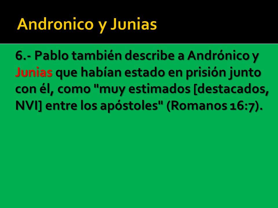 Andronico y Junias