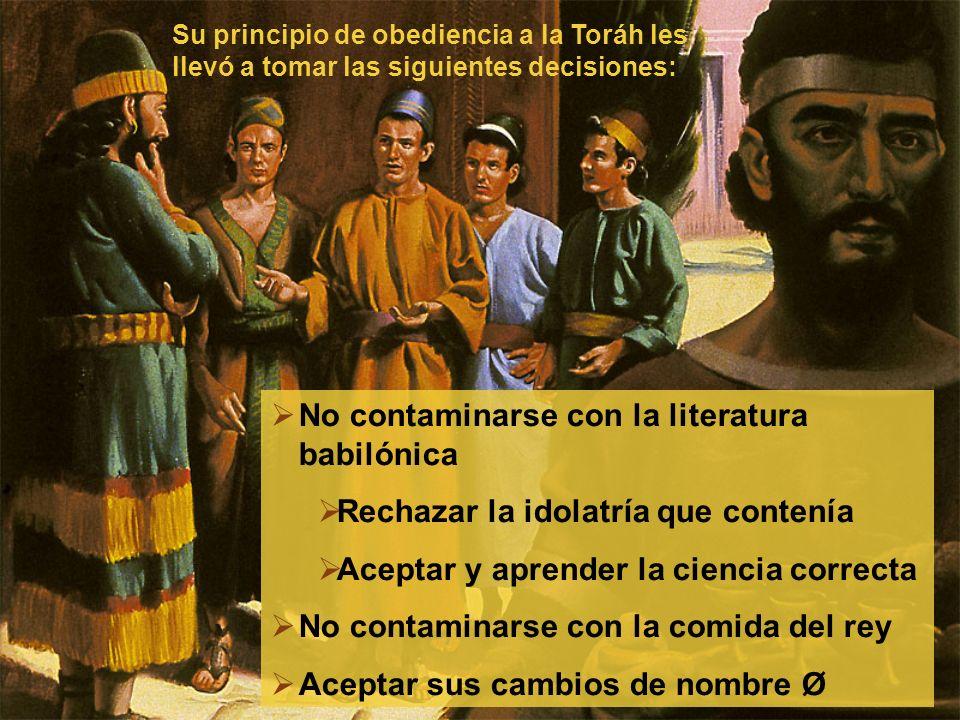 No contaminarse con la literatura babilónica