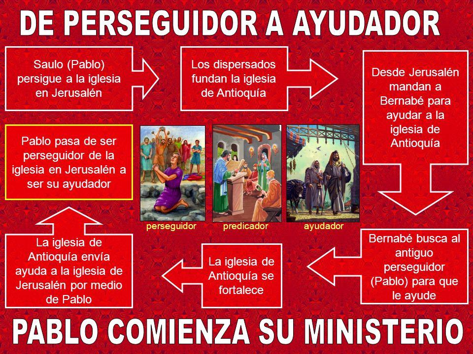 DE PERSEGUIDOR A AYUDADOR