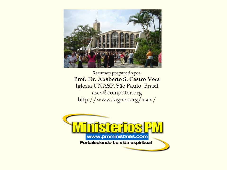 Prof. Dr. Ausberto S. Castro Vera