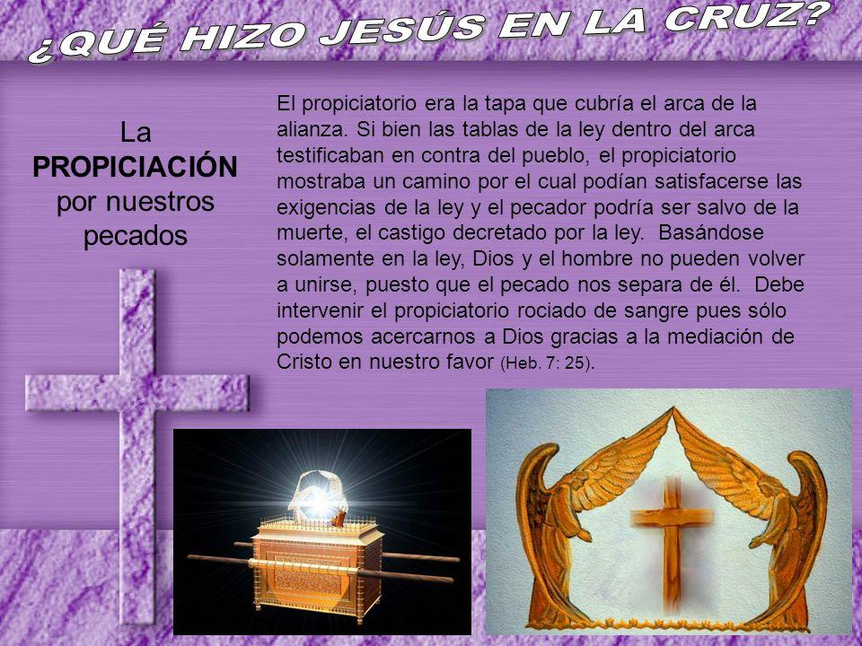 ¿QUÉ HIZO JESÚS EN LA CRUZ