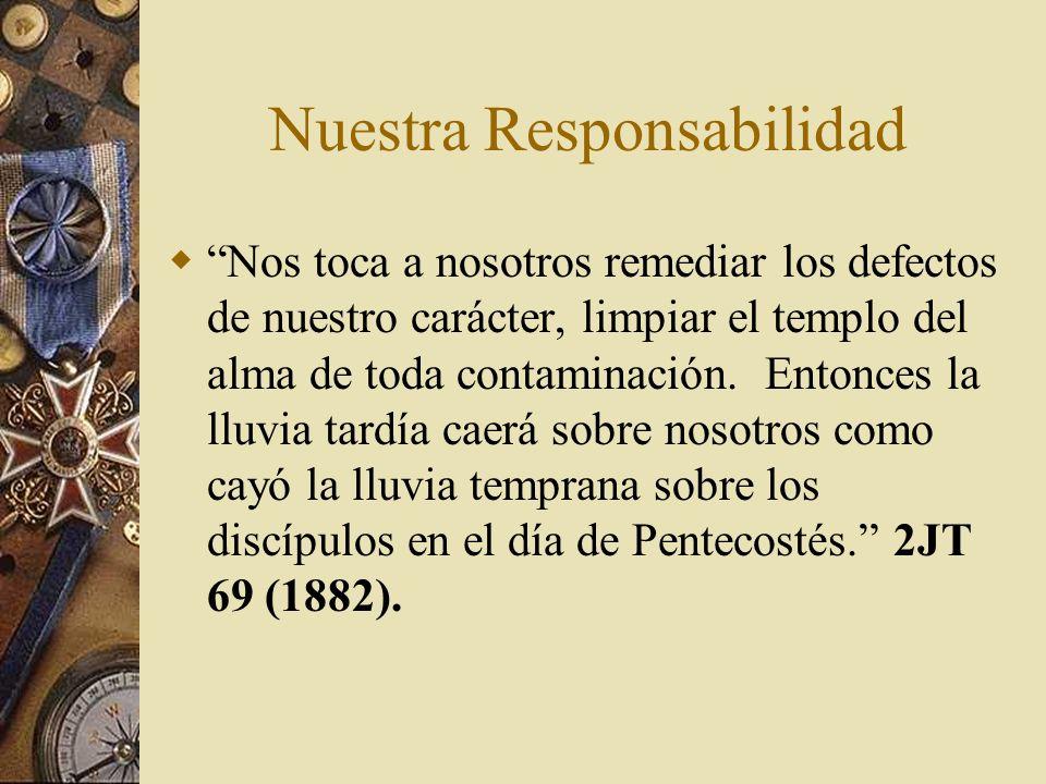 Nuestra Responsabilidad