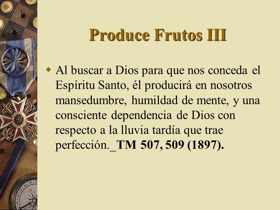 Produce Frutos III